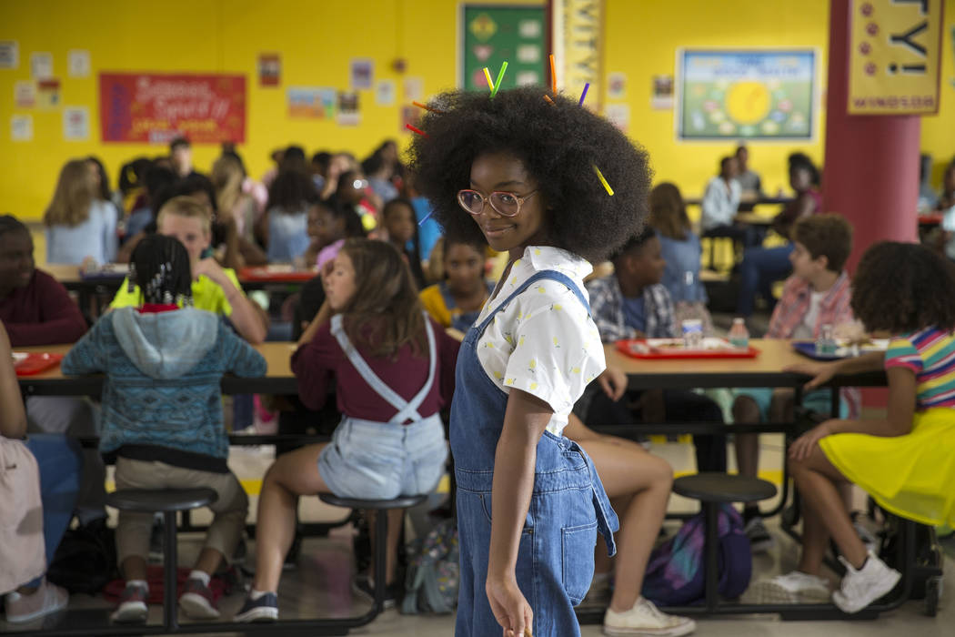 """This image released by Universal Pictures shows Marsai Martin in a scene from """"Little.&quo ..."""