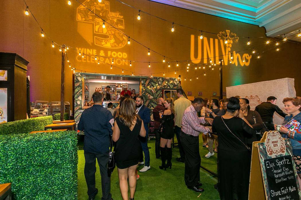 Al Mancini Las Vegas Review-Journal UNLVINO Grand Tasting at the Mirage