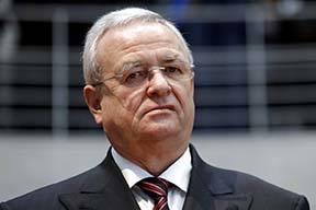 Martin Winterkorn, former CEO of the German car manufacturer 'Volkswagen', arrives Jan. 19, 201 ...