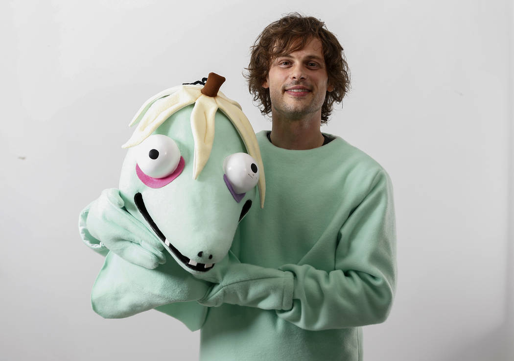 This April 1, 2019 photo shows actor and author Matthew Gray Gubler poses for a portrait in New ...