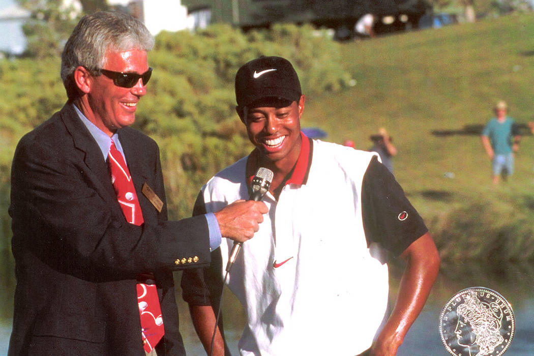 Las Vegas author recalls Tiger Woods' first pro victory