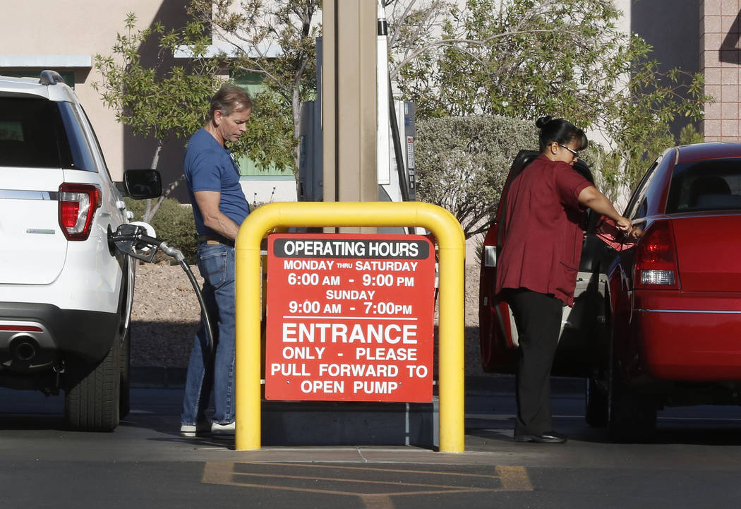 Gas prices in Nevada surge ahead of busy summer travel season