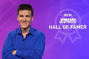 Las Vegan James Holzhauer has won $460,479 in just eight games of Jeopardy! (Jeopardy! Facebook)