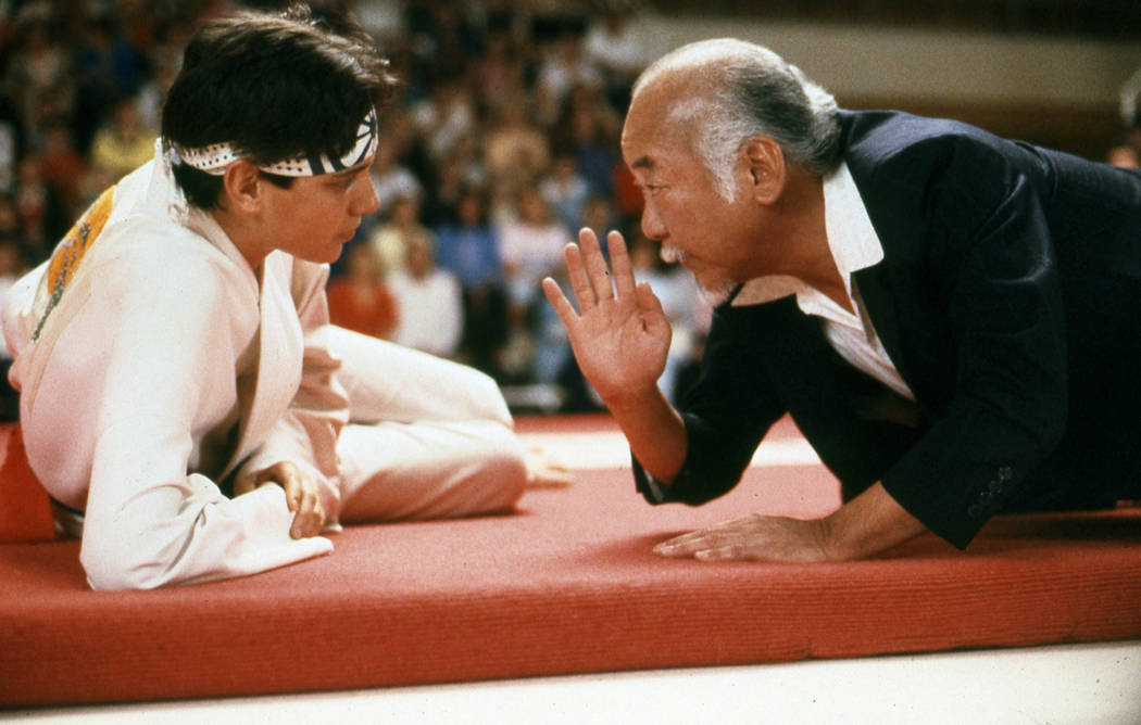 """Ralph Macchio and Pat Morita star in """"The Karate Kid."""" (Sony Pictures Entertainment)"""