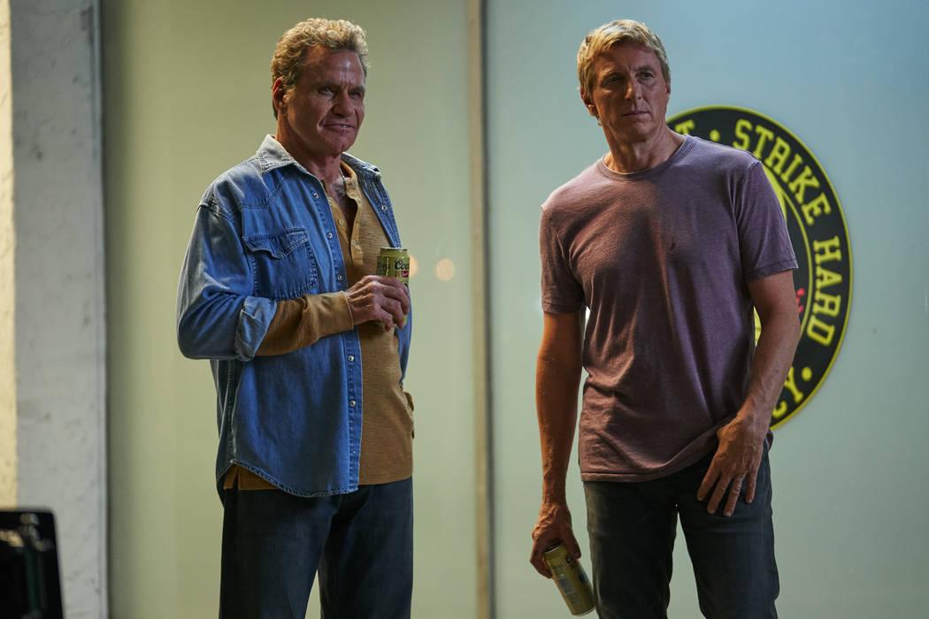 """Martin Kove and William Zabka star in """"Cobra Kai."""" (Sony)"""