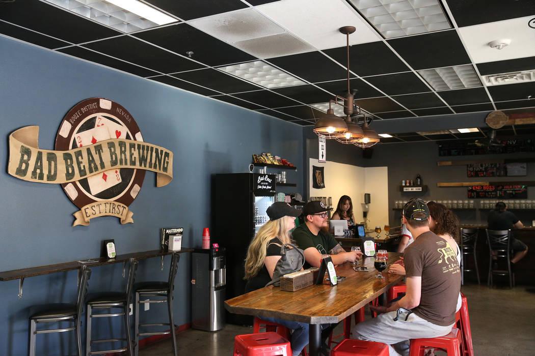 Bad Beat Brewing in Henderson, Saturday, April 13, 2019. (/Las Vegas Review-Journal) @Erik_Verduzco