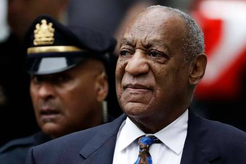 Bill Cosby arrives for his sentencing hearing Sept. 24, 2018, at the Montgomery County Courthou ...
