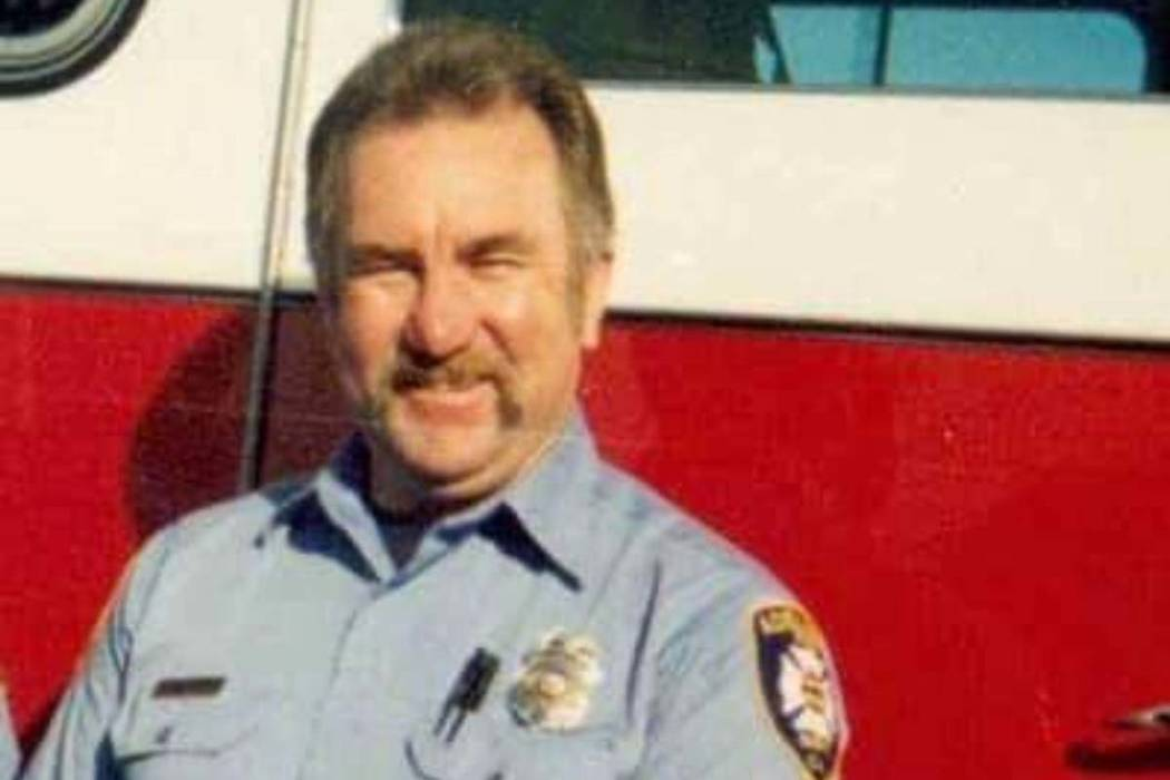 Donald Mercer, a retired firefighter from Southern California, died with his dog after both wer ...