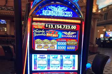 A Sunset Station guest hit a $13.2 million Megabucks jackpot at the Henderson casino on Sunday, ...