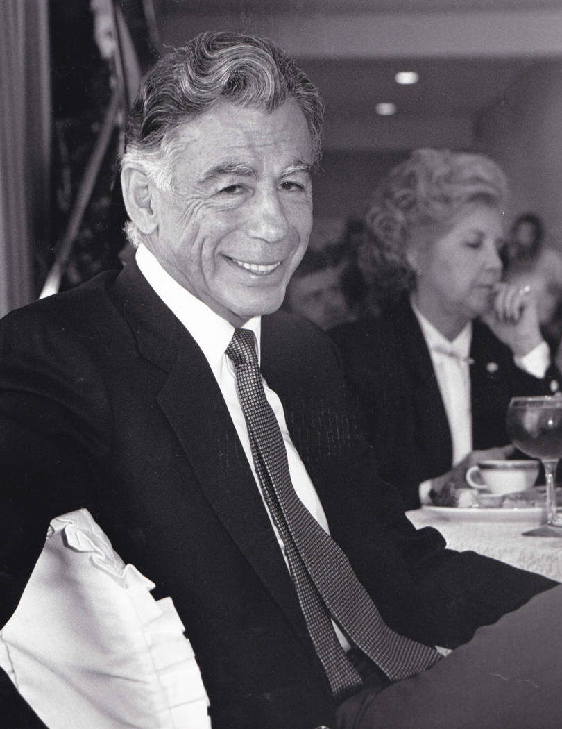 MGM Resorts' founder and largest shareholder Kirk Kerkorian is shown in this Oct. 3, 1989, phot ...
