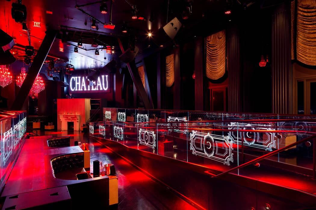 "The main room at Chateau Nightclub, site of ""Stars-N-Stilettos"" drag brunch at Paris Las Vegas. ..."