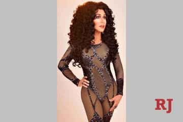 "Steven Wayne as Cher in ""Stars-N-Stilettos"" brunch at Chateau Nightclub. (Courtesy)"