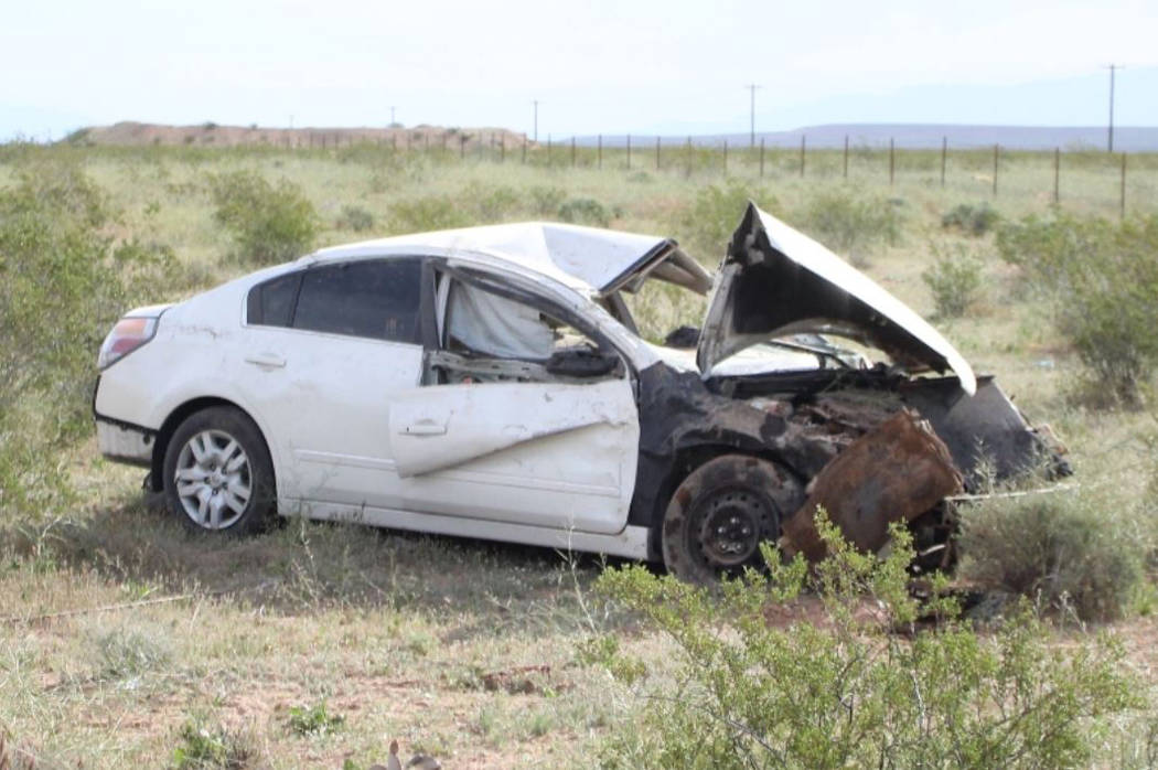 Woman arrested on DUI charge in fatal crash near Moapa | Las