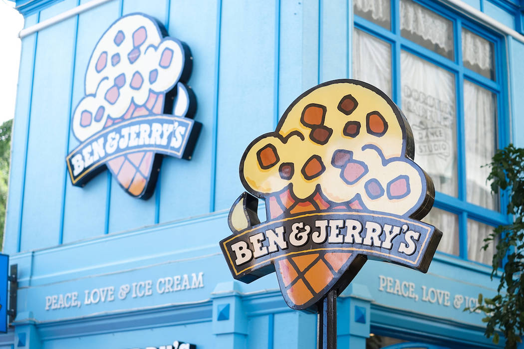 Ben & Jerry's ice cream shop (Getty Images)