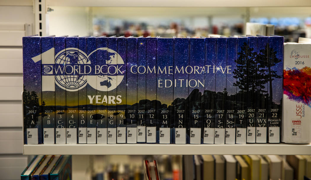 A 100 year commemorative edition of Word Book Encyclopedias are but a few of the countless mate ...