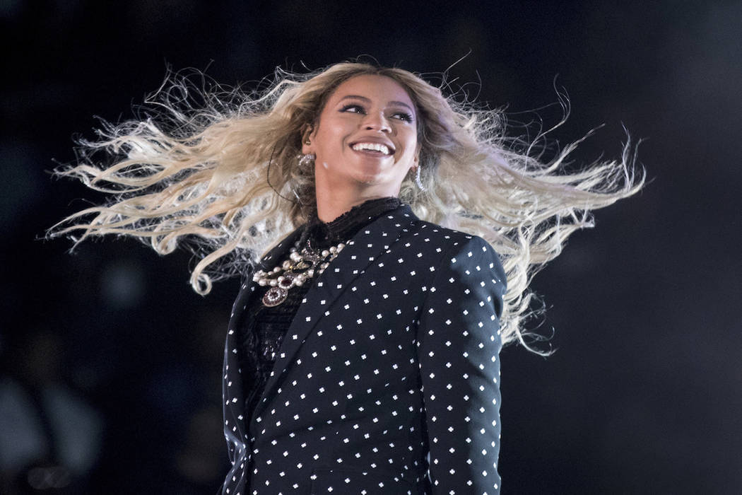 Beyonce performs at a Get Out the Vote concert for Democratic presidential candidate Hillary Cl ...