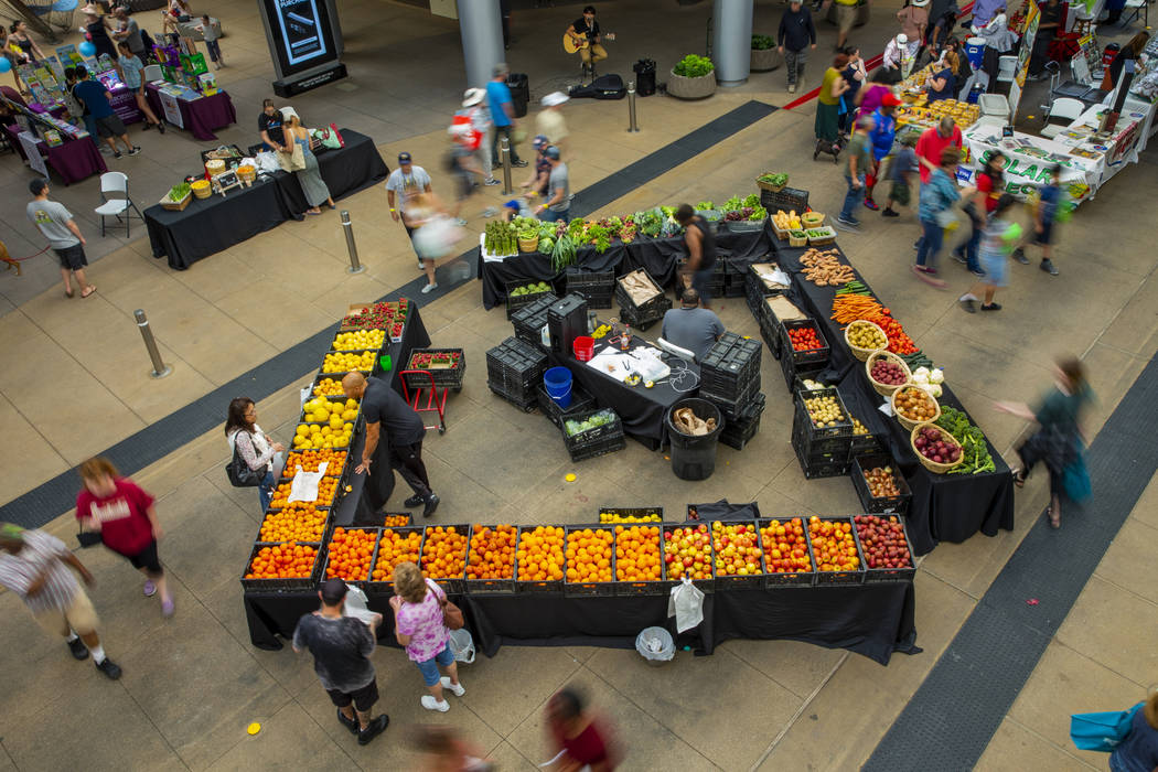 Rod's Produce Market is one of many vendors on hand as GREENFest celebrates its 10th anniversar ...