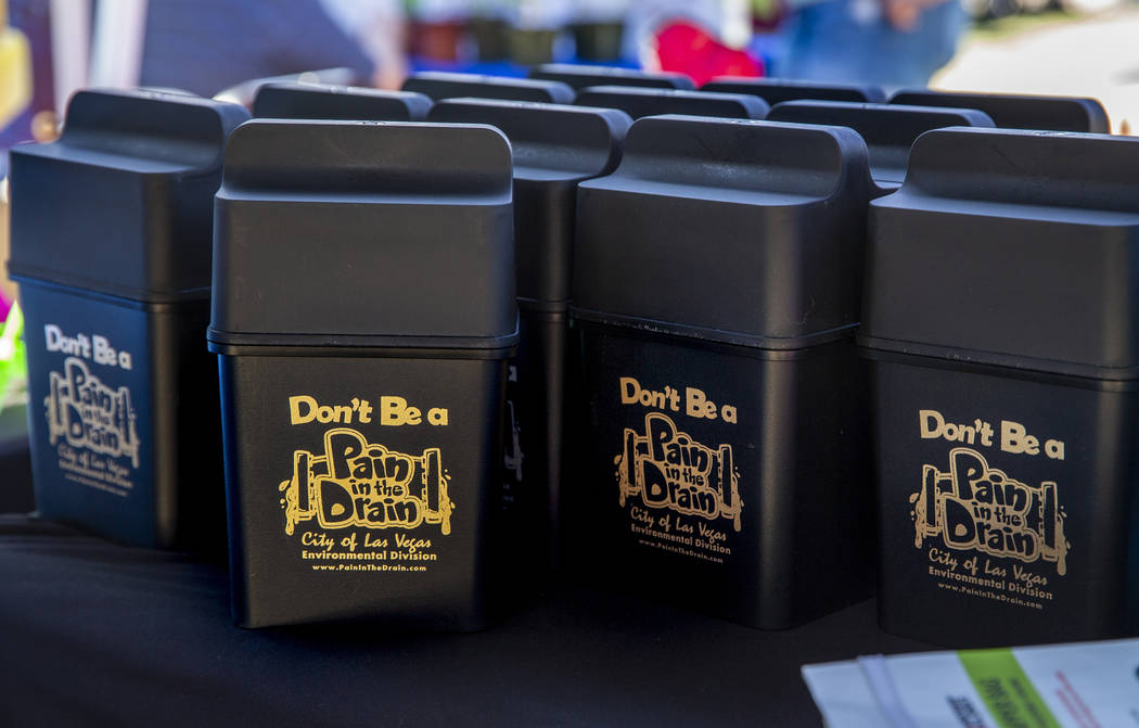 The City of Las Vegas Environmental Division offers kitchen grease kits for the public as GREEN ...