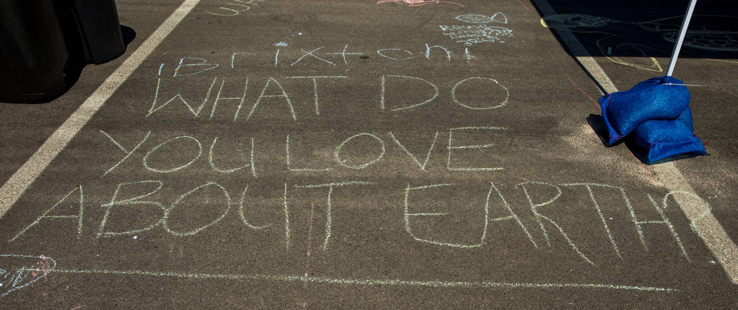 Chalk art is one of many free activities on hand as GREENFest celebrates its 10th anniversary a ...