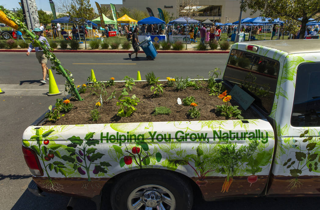 The garden Farms Foundation shows off the many ways to enhance gardening communities in its dis ...