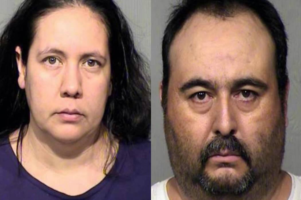 Brenda Acuna-Aguero and Jorge Murrieta-Valenzue (Maricopa County Sheriff's Office)