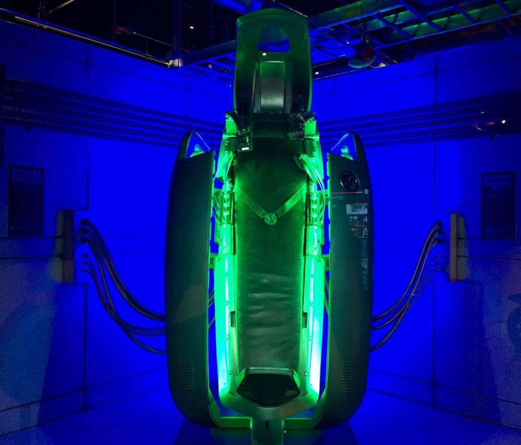 """The Vita-Ray Chamber from """"Captain America: The First Avenger"""" at Marvel's Avengers STATION att ..."""