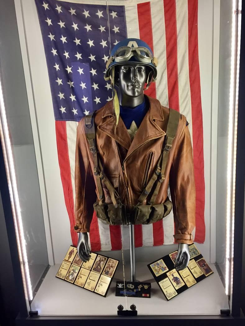 """Steve Rogers' jacket and helmet from """"Captain America: The First Avenger"""" at Marvel's Avengers ..."""