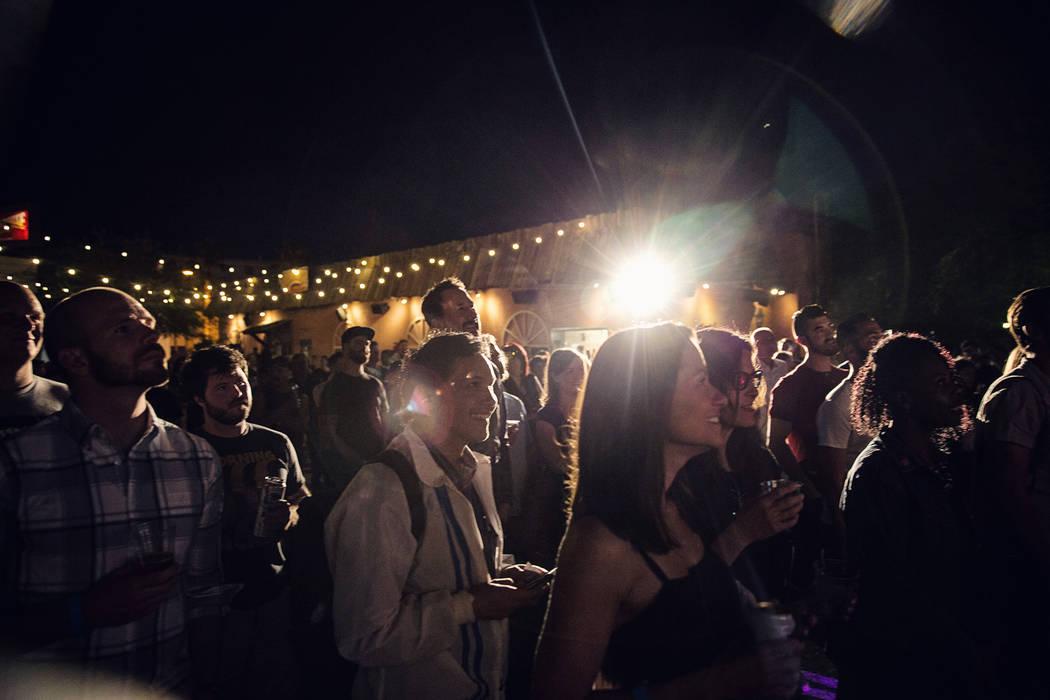 American Dreams Festival. Black Mt Institute and Believer Magazine. Downtown Las Vegas. Venues ...