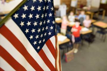 Pledge of Allegiance (Getty Images)