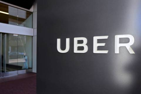 An exterior view of the headquarters of Uber in San Francisco, March 1, 2017. (Eric Risberg, Fi ...