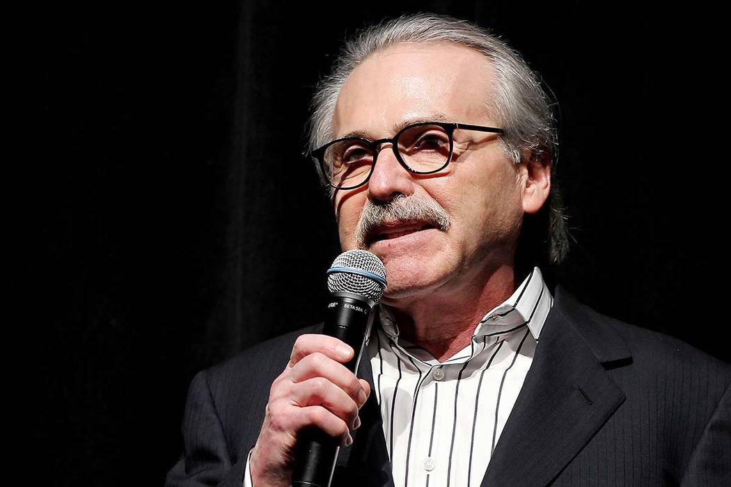 David Pecker, chairman and CEO of American Media (Marion Curtis via AP, File)