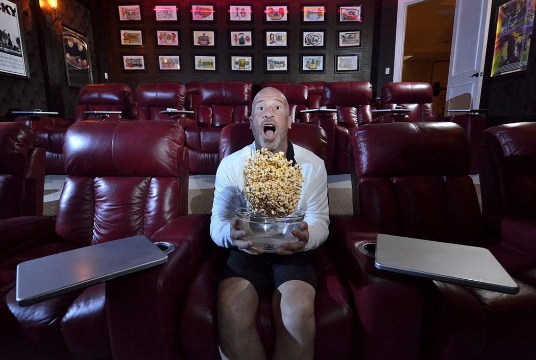 """Tanked"" star Brett Raymer built his Las Vegas home for fun and comfort. (Bill Hughes Real ..."