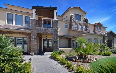 "Brett Raymer of ""Tanked"" bought the home near Lone Mountain in 2014 for $1,150,000, and said he ..."