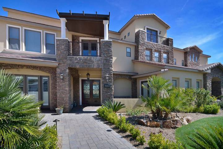"""Brett Raymer of """"Tanked"""" bought the home near Lone Mountain in 2014 for $1,150,000, and said he ..."""