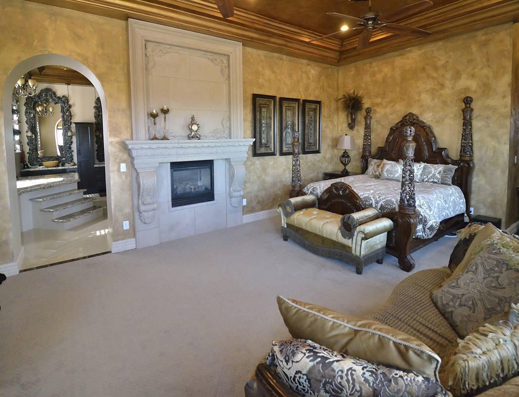 The master bedroom. (Bill Hughes Real Estate Millions)