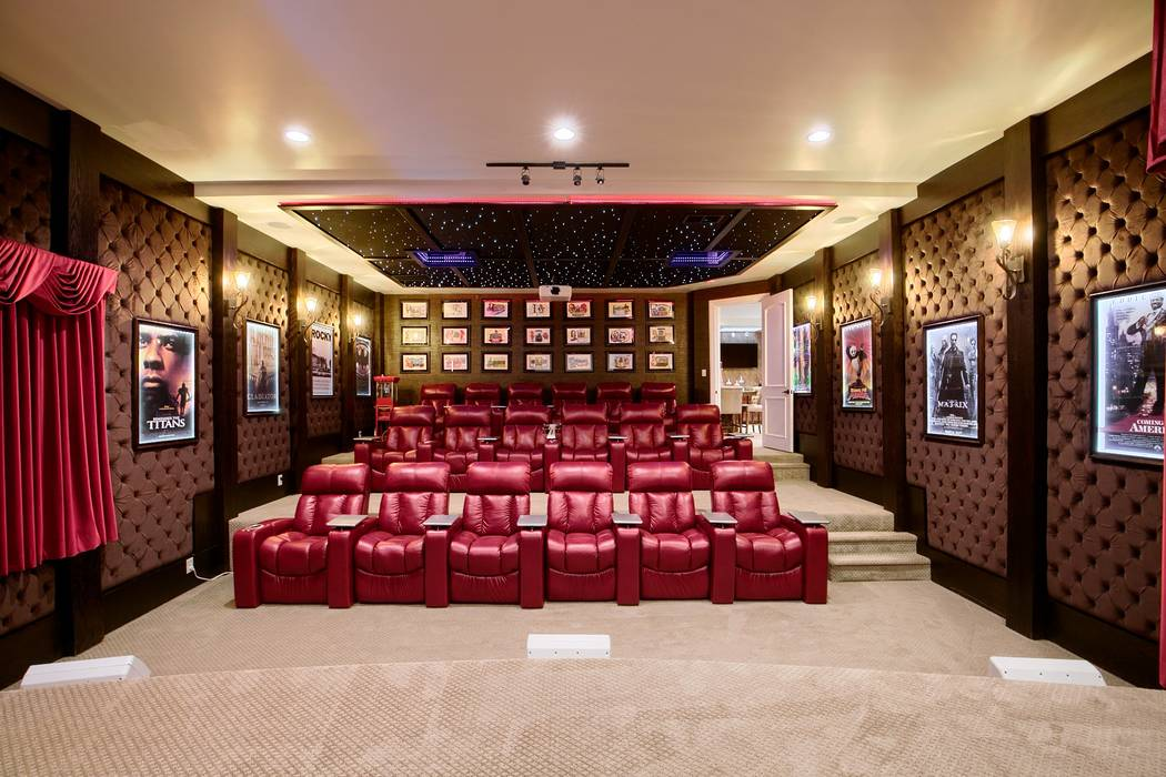 The theater. (Signature Real Estate Group)
