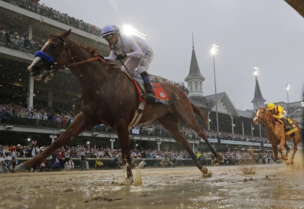 Major horse racing tracks to ban race-day use of anti-bleeding meds