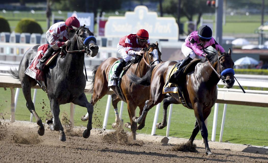 Santa Anita to continue horse racing despite protests