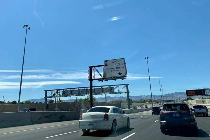 When Project Neon finishes in May, regulations regarding high occupancy vehicle lanes will chan ...