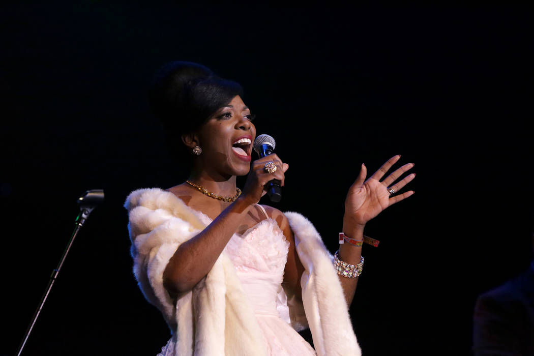 Miss Tammi Savoy of the Chris Casello Combo entertains a late night crowd at the Deke Dickerson ...
