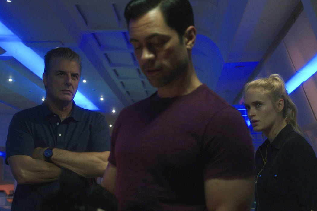 "Chris Noth, Danny Pino and Leven Rambin in ""Gone"" (WGN America)"