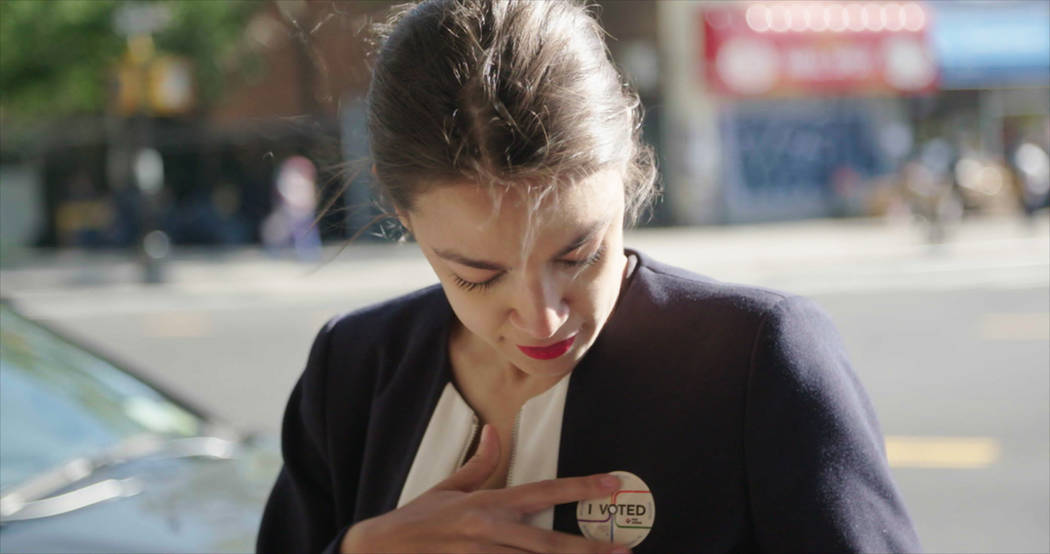 A still from Knock Down The House by Rachel Lears, an official selection of the U.S. Do ...