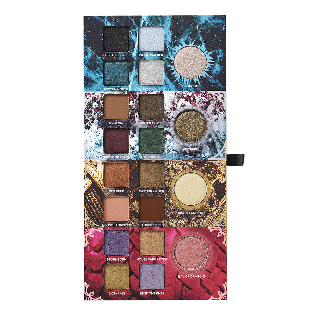 This product image released by HBO shows Urban Decay's new makeup collection inspired by ...