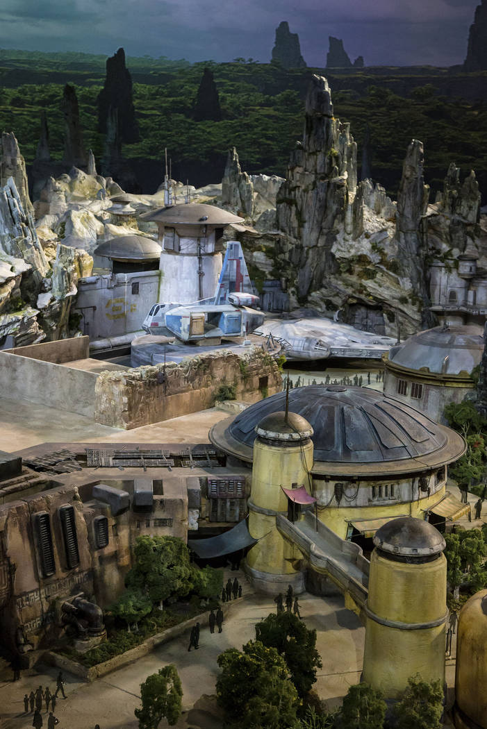 Star Wars: Galaxy's Edge will open May 31, 2019, at Disneyland Park in Anaheim, California, and ...