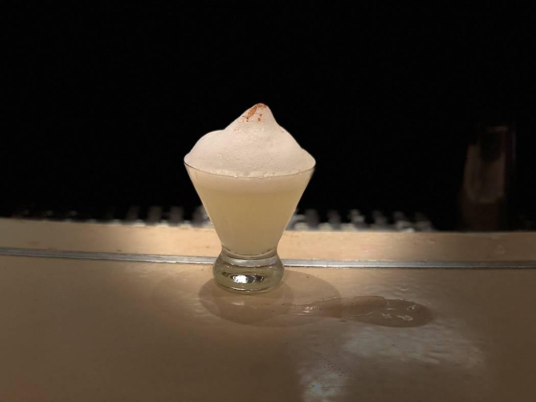 Salt Air Margarita at China Poblano by José Andres. (Janna Karel Las Vegas Review-Journal)