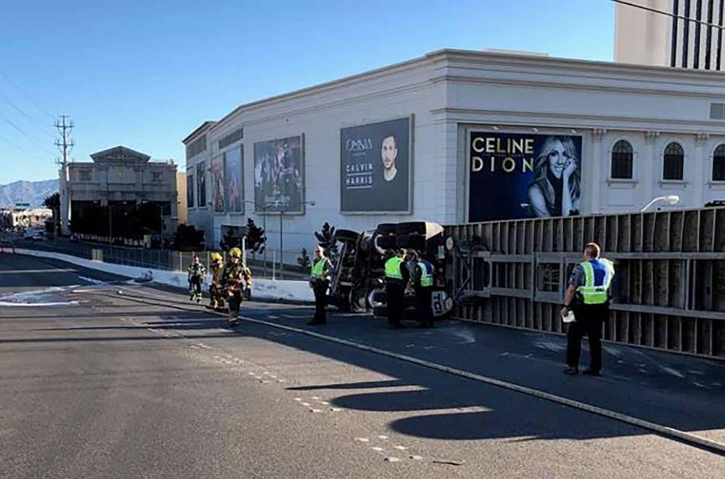 A crash involving a Western Elite dump truck carrying trash occurred just after 7 a.m. Tuesday ...