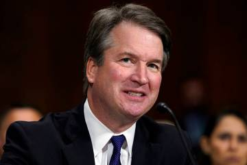 Supreme Court nominee Brett Kavanaugh testifies before the Senate Judiciary Committee on Capito ...