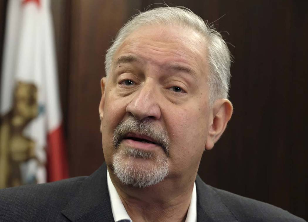 FILE - This Sept. 2, 2016 file photo shows attorney Mark Geragos talking to the media during a ...