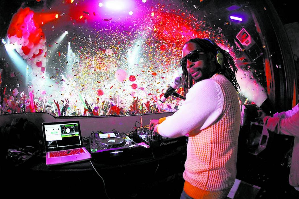 Lil John DJ'd New Year's Eve at Tryst nightclub in Wynn. Courtesy photo by Emilio Gonzales/Tryst.