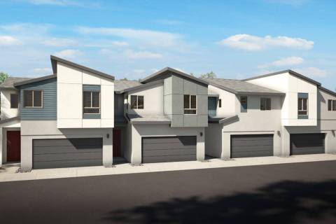 Pardee Homes' new Evolve town home community will celebrate its grand opening May 4-5. Shown ...